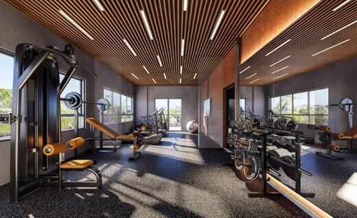Fitness - Apartamento 1 quarto à venda Campo Belo, São Paulo - R$ 361.000 - II-17756-29370 - 4