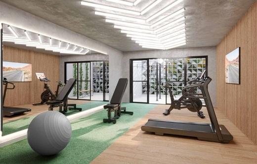 Fitness - Apartamento 1 quarto à venda Campo Belo, São Paulo - R$ 361.000 - II-17756-29370 - 5