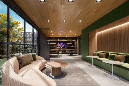 Salao de festas - Apartamento 1 quarto à venda Campo Belo, São Paulo - R$ 361.000 - II-17756-29370 - 6