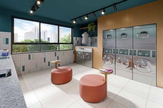 Lavanderia - Apartamento 1 quarto à venda Campo Belo, São Paulo - R$ 361.000 - II-17756-29370 - 7
