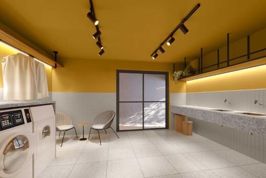 Lavanderia - Apartamento 1 quarto à venda Campo Belo, São Paulo - R$ 361.000 - II-17756-29370 - 8