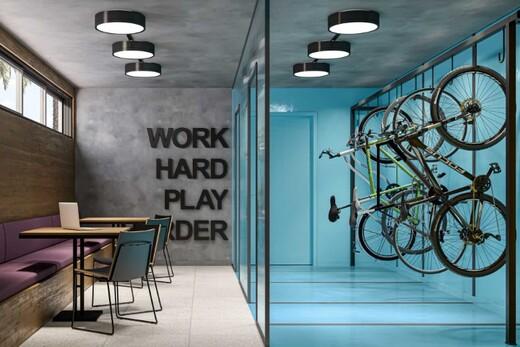 Bicicletario - Apartamento 1 quarto à venda Campo Belo, São Paulo - R$ 361.000 - II-17756-29370 - 9