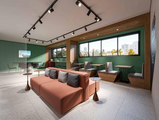 Coworking - Apartamento 1 quarto à venda Campo Belo, São Paulo - R$ 361.000 - II-17756-29370 - 10