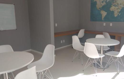 Sala de estudos - Fachada - Front Park Residence - Fase 4 - 310 - 11