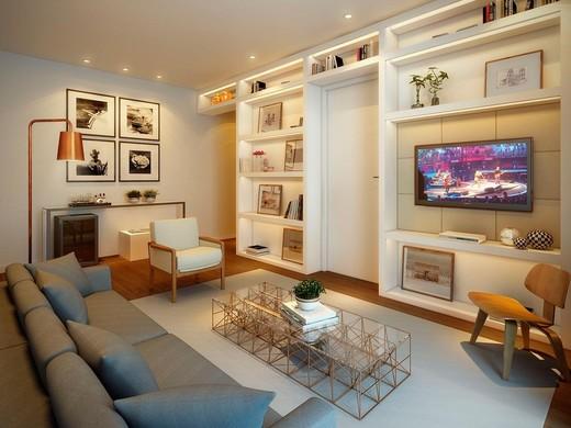 Living apto 87m2 - Fachada - Arte Arquitetura Pinheiros 2 - 2 - 4