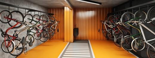 Bicicletario - Fachada - Caminhos da Lapa Home Club - 1 - 16