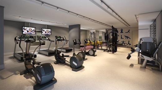 Fitness - Fachada - Helbor Trend Higienópolis - 268 - 5