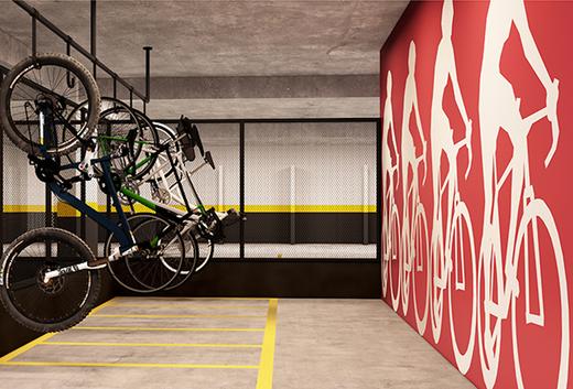 Bicicletario - Apartamento à venda Rua Sena Madureira,Vila Mariana, São Paulo - R$ 728.000 - II-1202-4775 - 6