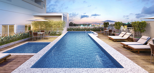 Piscina - Apartamento à venda Rua Sena Madureira,Vila Mariana, São Paulo - R$ 728.000 - II-1202-4775 - 8