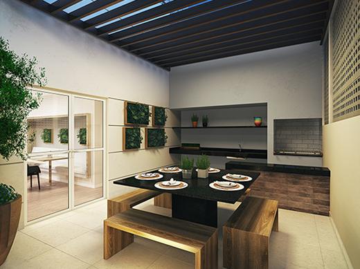 Churrasqueira - Apartamento à venda Rua Sena Madureira,Vila Mariana, São Paulo - R$ 728.000 - II-1202-4775 - 10
