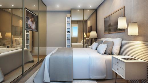 Dormitorio - Fachada - Unique Pinheiros - 11 - 4