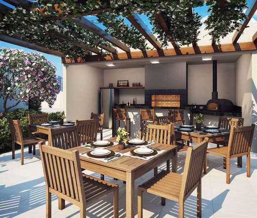 Churrasqueira - Fachada - Living Resort - 279 - 8