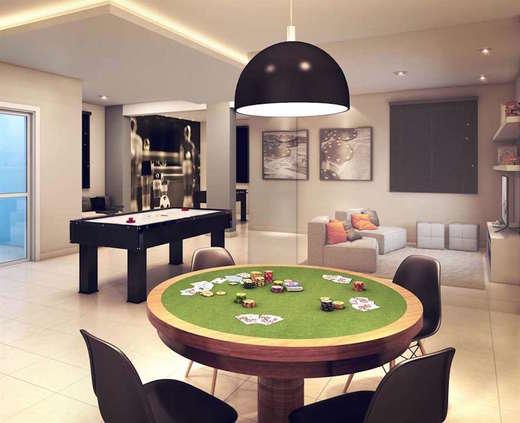 Sala de jogos - Fachada - Living Resort - 279 - 10