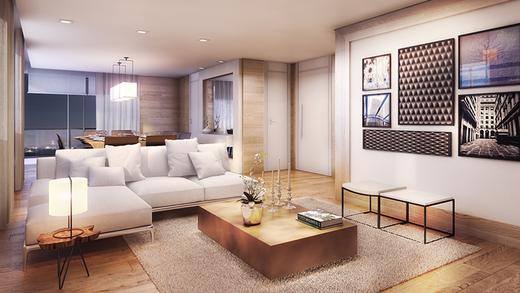 Living - Apartamento à venda Rua Pirapora,Paraíso, São Paulo - R$ 9.244.080 - II-1272-4990 - 5