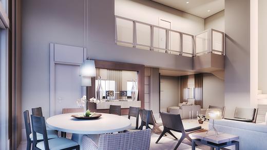 Living - Apartamento à venda Rua Pirapora,Paraíso, São Paulo - R$ 9.244.080 - II-1272-4990 - 6