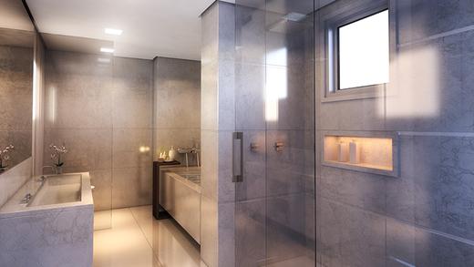 Banheiro - Apartamento à venda Rua Pirapora,Paraíso, São Paulo - R$ 9.244.080 - II-1272-4990 - 8
