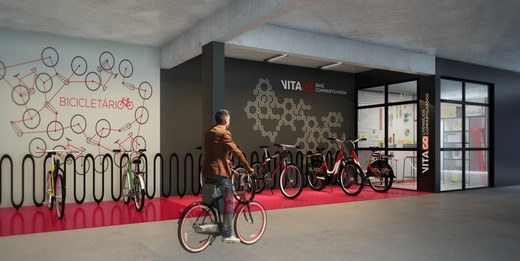 Bicicletario - Fachada - Vita Bom Retiro - 285 - 11