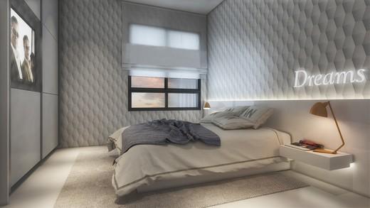 Suite - Apartamento à venda Rua Topázio,Vila Mariana, São Paulo - R$ 1.103.765 - II-1302-5078 - 4