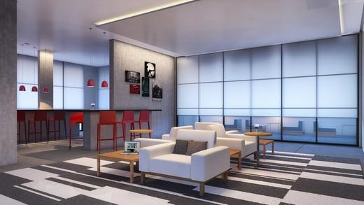 Lounge - Apartamento à venda Rua Topázio,Vila Mariana, São Paulo - R$ 1.103.765 - II-1302-5078 - 7