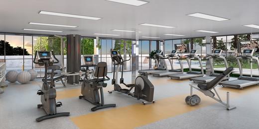 Fitness - Apartamento à venda Rua Topázio,Vila Mariana, São Paulo - R$ 1.103.765 - II-1302-5078 - 8