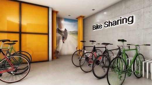 Bicicletario - Apartamento à venda Rua Topázio,Vila Mariana, São Paulo - R$ 1.103.765 - II-1302-5078 - 10