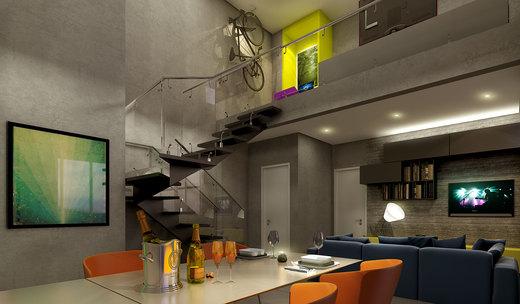 Living duplex - Fachada - VN Cardoso de Melo - 291 - 4