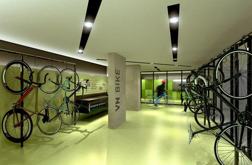 Bicicletario - Fachada - VN Cardoso de Melo - 291 - 13