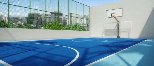 Quadra poliesportiva - Fachada - Urban Resort - 21 - 20