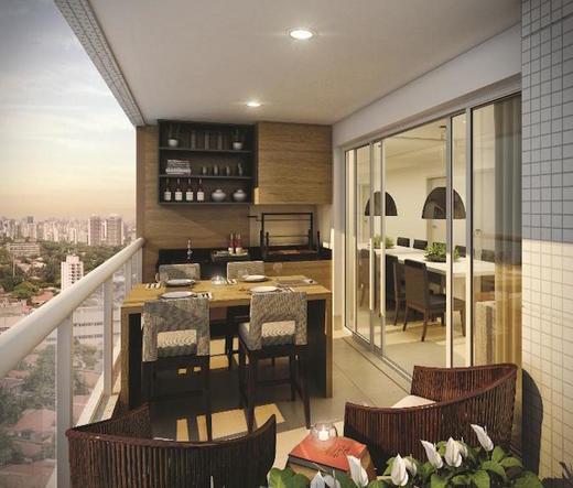 Varanda - Apartamento 3 quartos à venda Lapa, São Paulo - R$ 1.720.000 - II-1381-5342 - 6