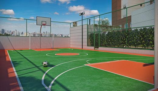 Quadra poliesportiva - Apartamento 3 quartos à venda Lapa, São Paulo - R$ 1.720.000 - II-1381-5342 - 17