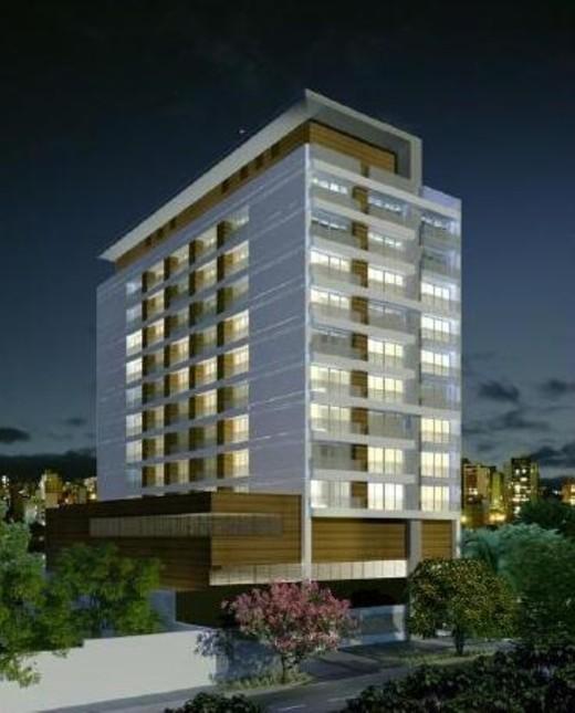 Fachada - Sala Comercial 44m² à venda Avenida Moaci,Moema, São Paulo - R$ 594.778 - II-1403-5410 - 1