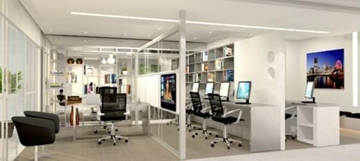 Escritorio - Sala Comercial 44m² à venda Avenida Moaci,Moema, São Paulo - R$ 594.778 - II-1403-5410 - 5