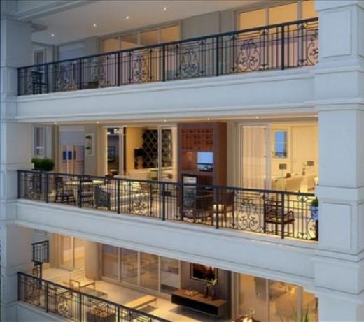 Fachada detalhada - Apartamento à venda Avenida Açocê,Moema, São Paulo - R$ 8.500.000 - II-1413-5441 - 4