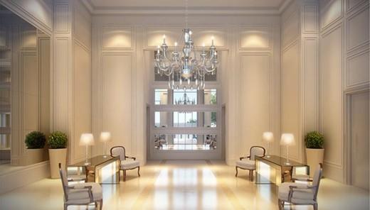 Hall - Apartamento à venda Avenida Açocê,Moema, São Paulo - R$ 8.500.000 - II-1413-5441 - 6