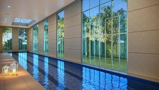Piscina coberta - Apartamento à venda Avenida Açocê,Moema, São Paulo - R$ 8.500.000 - II-1413-5441 - 9