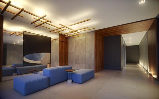 Hall - Apartamento à venda Rua Doutor Samuel Porto,Saúde, São Paulo - R$ 836.995 - II-1425-5484 - 5