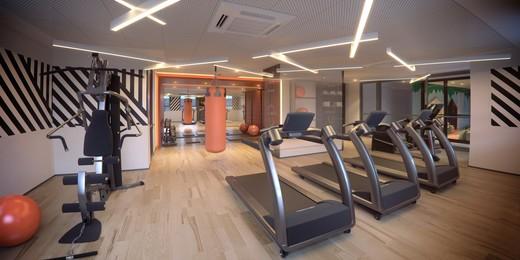 Fitness - Apartamento à venda Rua Doutor Samuel Porto,Saúde, São Paulo - R$ 836.995 - II-1425-5484 - 9