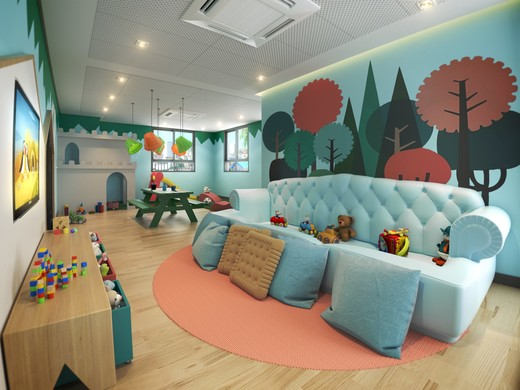 Brinquedoteca - Apartamento à venda Rua Doutor Samuel Porto,Saúde, São Paulo - R$ 836.995 - II-1425-5484 - 10