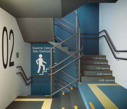 Escadarias - Apartamento à venda Rua Doutor Samuel Porto,Saúde, São Paulo - R$ 836.995 - II-1425-5484 - 13