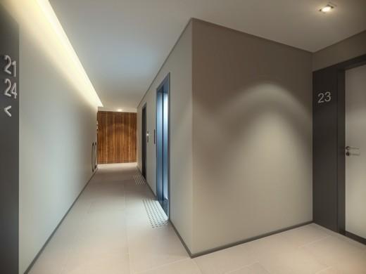 Hall andares - Apartamento à venda Rua Doutor Samuel Porto,Saúde, São Paulo - R$ 836.995 - II-1425-5484 - 14