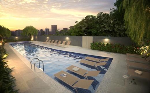 Piscina com deck molhado - Apartamento à venda Rua Doutor Samuel Porto,Saúde, São Paulo - R$ 836.995 - II-1425-5484 - 18