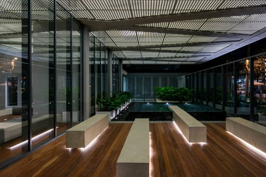 Jardim entrada interno - Fachada - Forma Itaim - 311 - 8