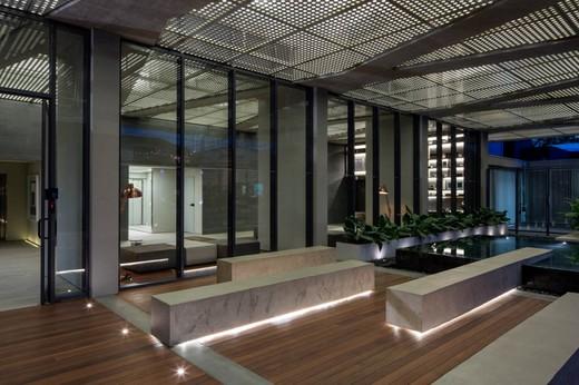 Jardim entrada interno - Fachada - Forma Itaim - 311 - 9