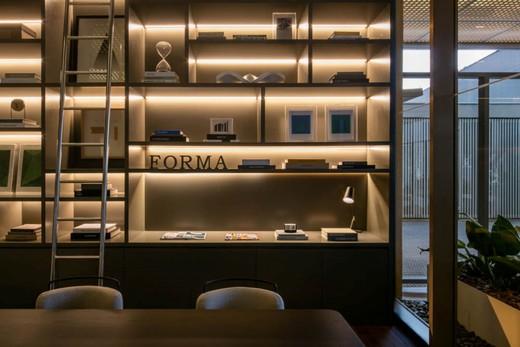 Biblioteca lobby - Fachada - Forma Itaim - 311 - 11