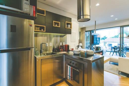 Cozinha studio - Fachada - Forma Itaim - 311 - 19