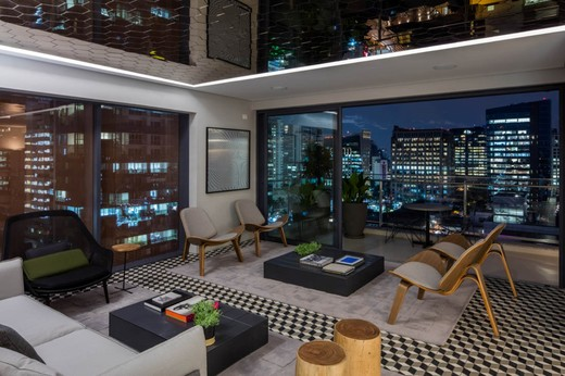 Club lounge - Fachada - Forma Itaim - 311 - 26