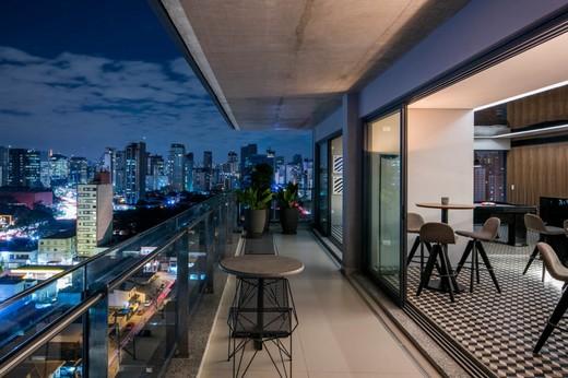 Terraco lounge - Fachada - Forma Itaim - 311 - 29