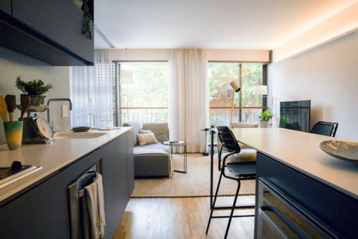 Living - Cobertura à venda Avenida Jurucê,Moema, São Paulo - R$ 2.171.121 - II-1444-5538 - 10