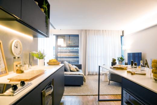 Living - Cobertura à venda Avenida Jurucê,Moema, São Paulo - R$ 2.171.121 - II-1444-5538 - 11
