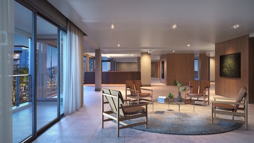 Hall social a - Cobertura à venda Rua Havaí,Perdizes, São Paulo - R$ 3.334.194 - II-1475-5635 - 6